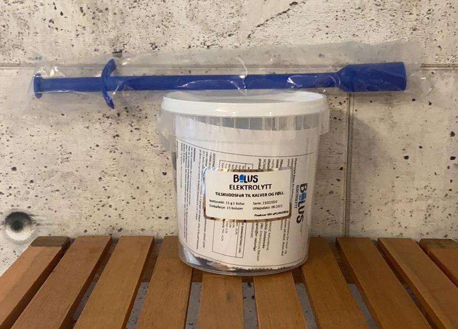 ElektrolyttBolus for kalver