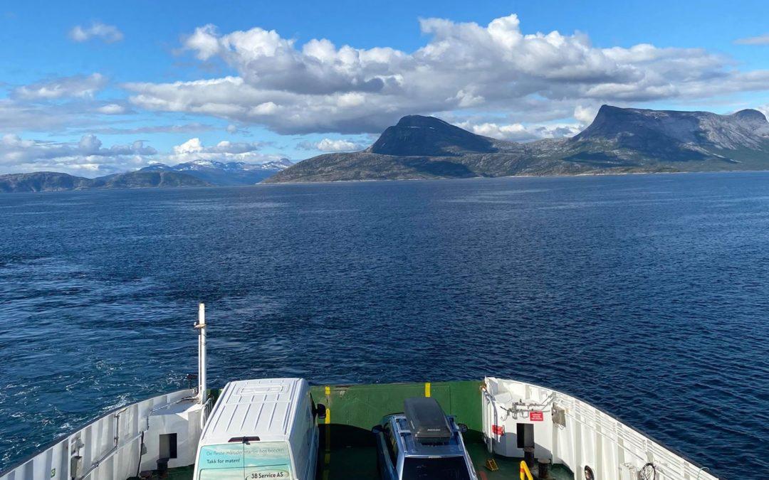 3B på reise langs Norge